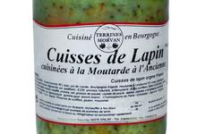 Cuisses de Lapin cuisinées à la moutarde à l'ancienne