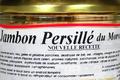 Jambon Persillé du Morvan