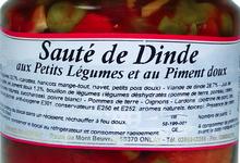Sauté de Dinde aux Petits légumes et au Piment doux