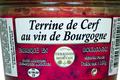 Terrine de Cerf au vin de Bourgogne