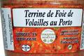 Terrine de foie de volaille au porto