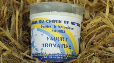 Yaourt arôme vanille