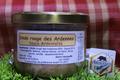 Plat cuisiné de dinde rouge des Ardennes sauce Ardennaise