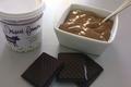 Crème dessert fermière chocolat de la ferme de Champel