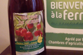 Nectar de cerise Montmorency