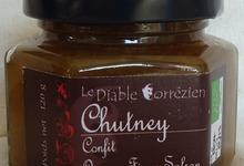 Le Diable Corrézien - Chutney Oignon-Figue-Safran
