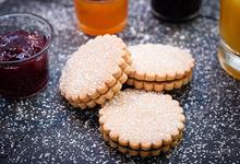 Biscuits fourrés abricot, framboise ou myrtille