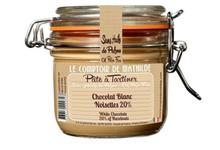 Pâte à Tartiner Chocolat Blanc Noisettes
