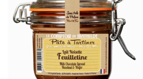 Chocolat au Lait Feuilletine - Pâte à Tartiner