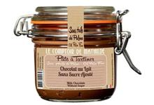 Chocolat au Lait Noisette Sans Sucre Ajouté. pâte à tartiner