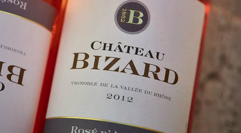 château-Bizard, Rosé d'Archas