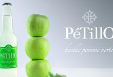 limonade artisanale, PétillO basilic pomme verte