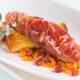 Rougets au Jambon de Parme et soupe de poisson