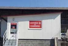 Devanture Fromagerie Laiterie de Chambéry