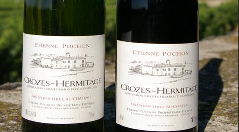 A.O.C. Crozes Hermitage Etienne Pochon Blanc