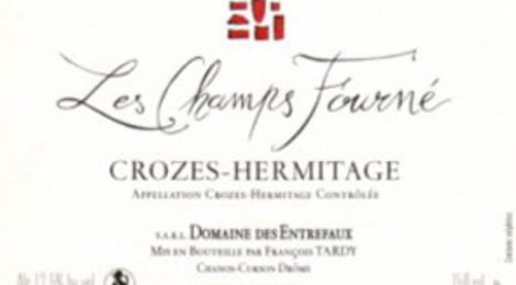 Crozes-Hermmitage « Champs Fourné »