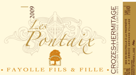 Fayolle fils et fille, Pontaix rouge