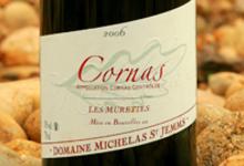 Domaine Michelas St Jemms , « Les Murettes » (vin rouge)