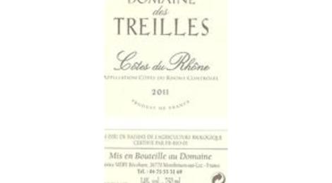 Côtes du Rhône Rouge  Domaine des Treilles
