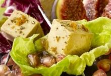 Bouchées de Foie Gras en cœur de laitue