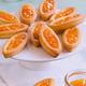 Barquettes à la confiture d'Abricots de nos Régions et au gingembre