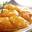 Tatin d'abricots de nos régions au romarin