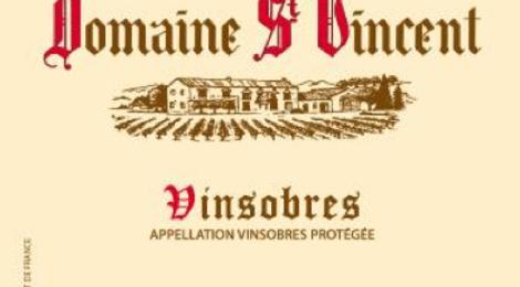 Domaine St Vincent, vinsobres 2013