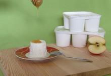Faisselles au lait cru de Brebis
