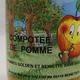 Compote pommes golden/reinette