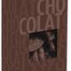 Demi-tranches d'oranges confites enrobées de chocolat noir