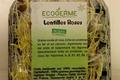 Graine Germées - Lentilles roses