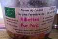 rillettes pur porc