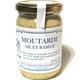 Moutarde de Dijon à l'ail & au basilic
