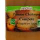 Compote Bio Pomme / Châtaigne