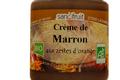 Crème de Marron Bio aux zestes d'orange