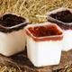 fromage blanc de chèvre, framboise ou myrtille