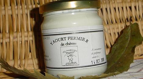 yaourt fermier de chèvre