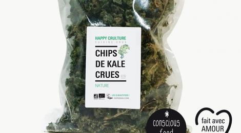 """Chips de Kale """"Nature"""""""