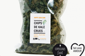 "Chips de Kale Crues ""Sweet Mustard-Piment"""