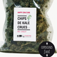 "Chips de Kale Crues ""Red Cheezy"""