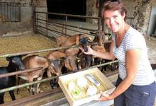 Fromages de Chèvre Moret, ferme de la Vallière