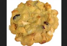 Cookies Pomme-macadamia-cranberries