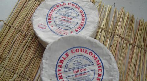 Coulommiers au lait cru fermier