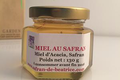 miel d'acacia au safran