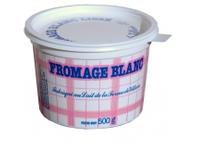 Fromage blanc lisse 40%, ferme de Viltain