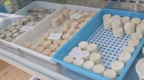 L'enclos des chevrettes, fromages de chèvre