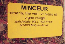 Tisane minceur Millymenthe