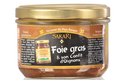 Foie gras de canard entier et son confit d'oignons
