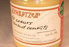 Ferme Eyhartzea, Bocal de 10 coeurs confits