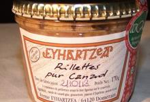 Ferme Eyhartzea, Rillettes pur canard